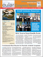 EULAR Congress News: Friday/Saturday - 8/9 June Edition